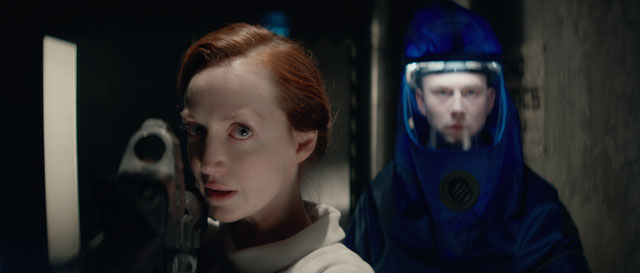 Olivia Grant and Liam Ainsworth in Genesis (Lionsgate UK)