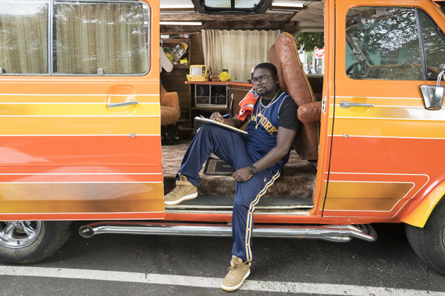 """LilRel Howery as """"Dax"""" in UNCLE DREW. Photo courtesy of Lionsgate."""