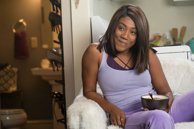 """Tiffany Haddish as """"Jess"""" in UNCLE DREW. Photo by Quantrell Colbert."""