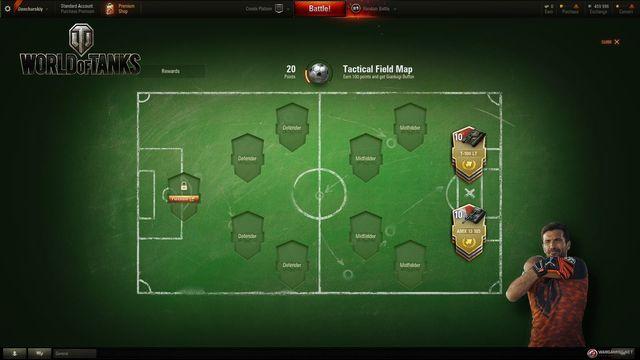 World of Tanks - Tank Football