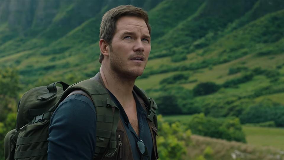 Chris Pratt- Jurassic World: Fallen Kingdom