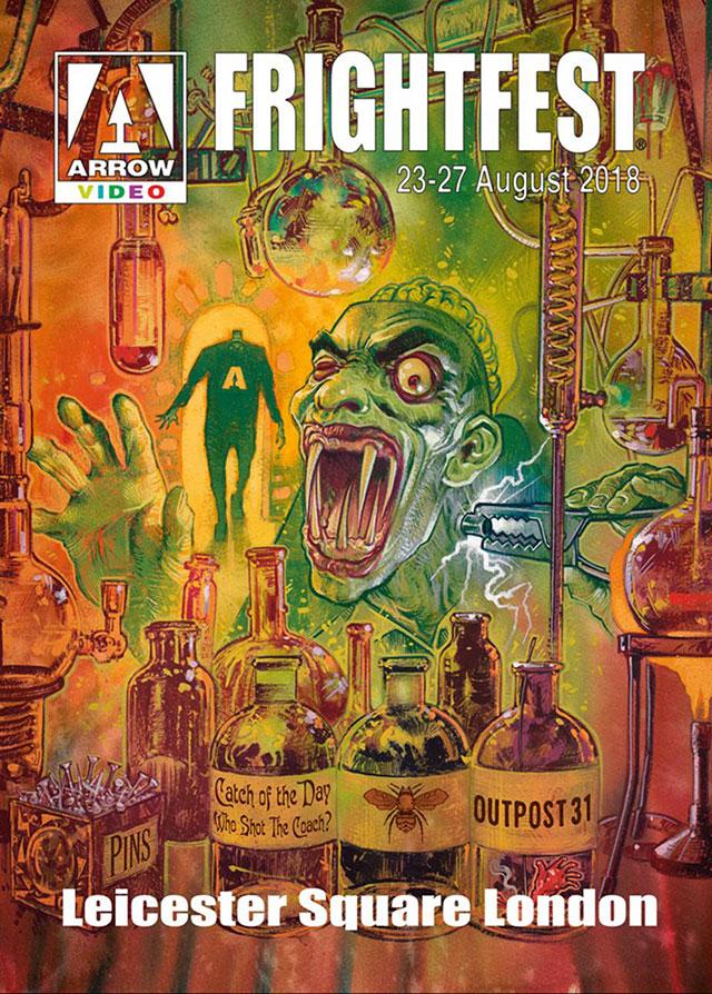 Arrow Video FrightFest 2018 artwork
