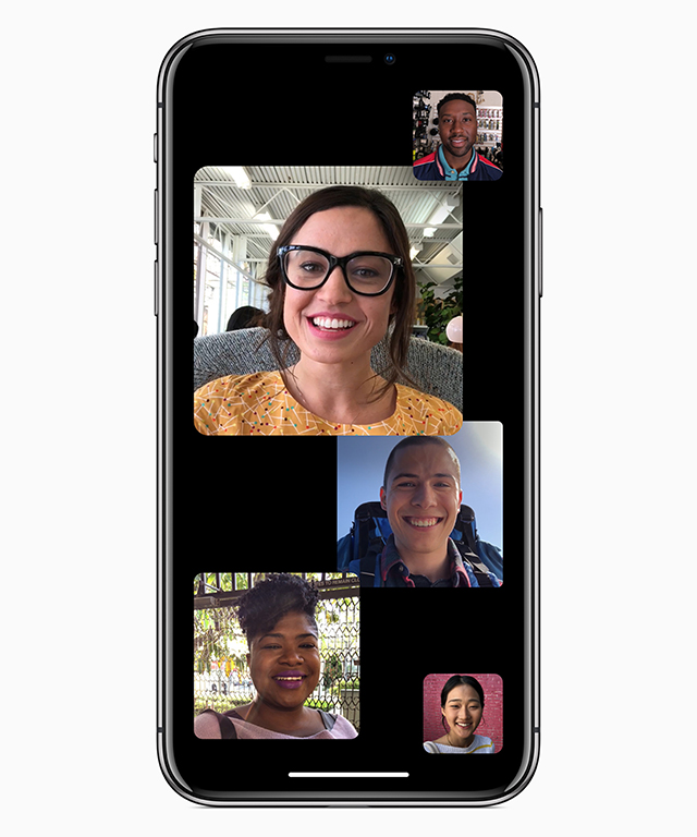 iOS 12 - Group Facetime