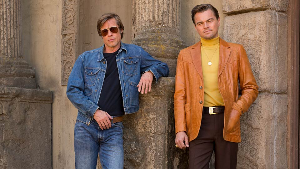 Once Upon a Time in Hollywood - Brad Pitt and Leonardo DiCaprio