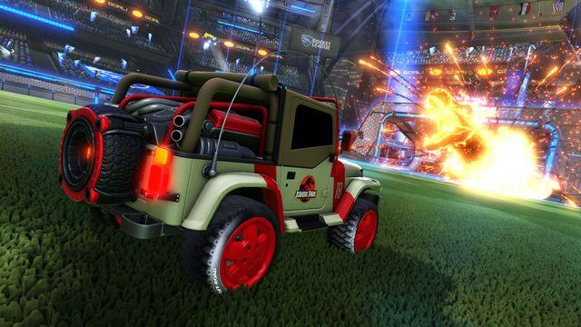 Rocket League - Jurassic World car pack DLC