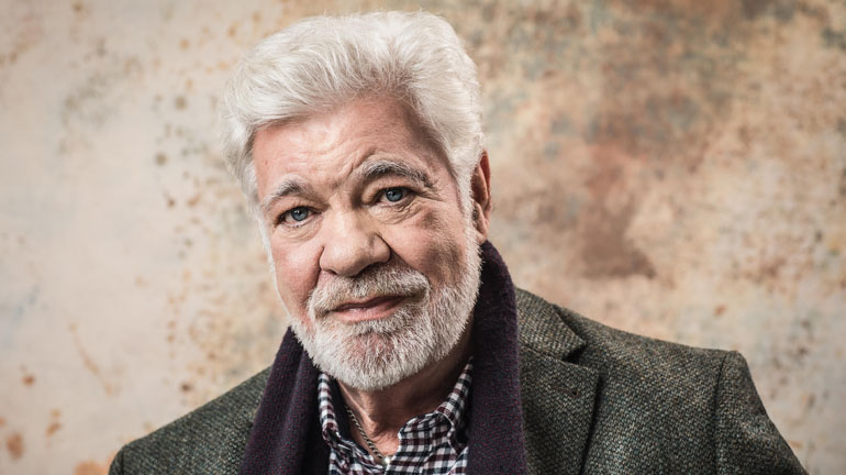 Matthew Kelly in The Habit of Art at York Theatre Royal.