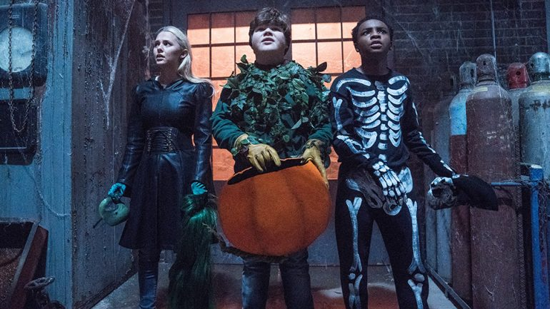 Goosebumps 2 Haunted Halloween Trailer Poster And First