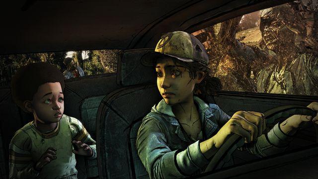 ClemAJTaThe Walking Dead: The Final SeasonrainStationCarAttack