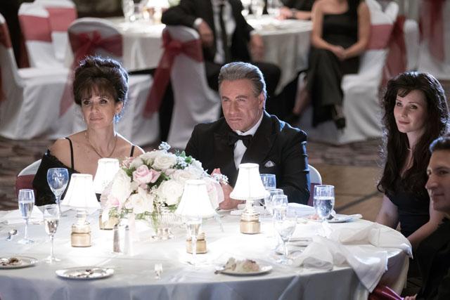 John Travolta and Kelly Preston in GOTTI (Lionsgate UK)