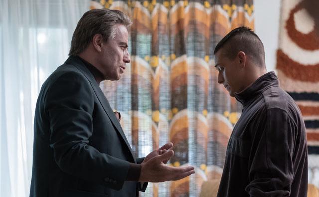 John Travolta and Spencer Lofranco in GOTTI (Lionsgate UK)