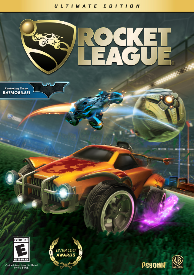 Rocket League: Ultimate Edition Box Art