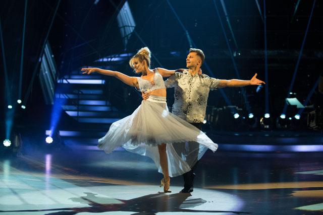 Ashley Roberts and Pasha Kovalev