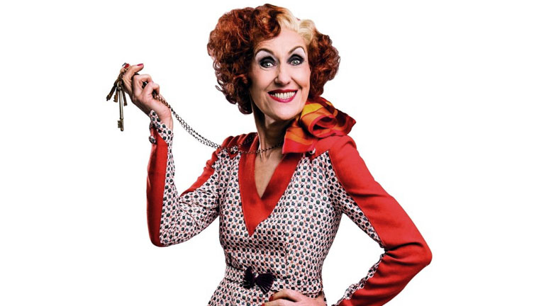 Anita Dobson is Miss Hannigan in Annie - Credit Matt Crockett Dewynters.