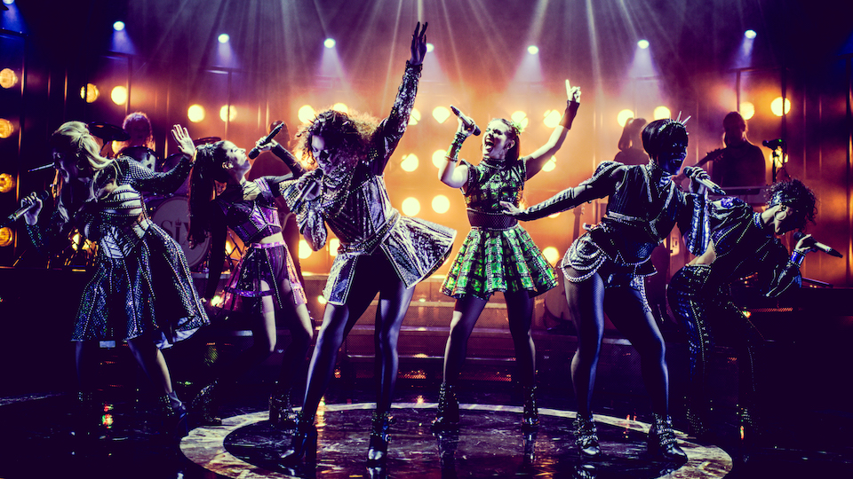 SIX the musical review London Arts Theatre a pop concert-come-history-lesson for Henry VIII