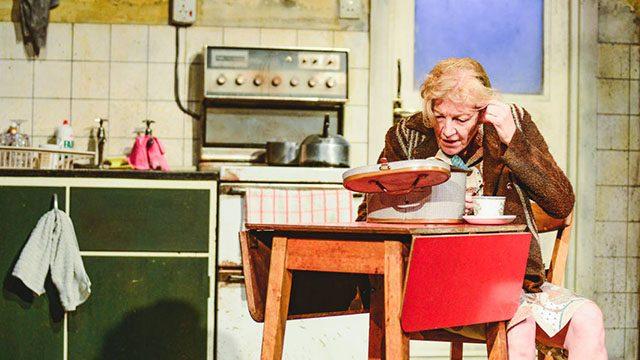 Susan Twist as Molly. Photograph: Kirsten McTernan.