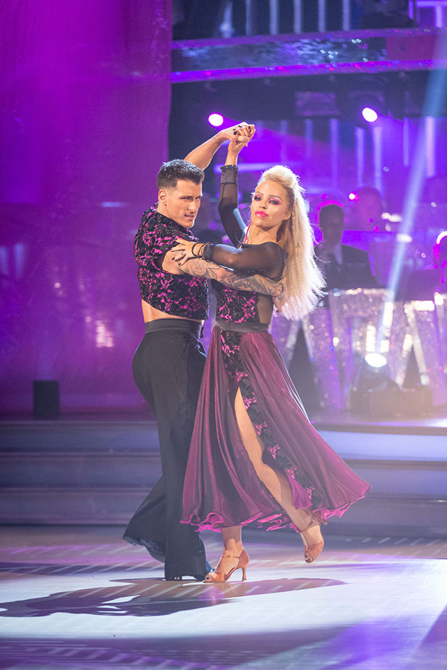 Katie Piper and Gorka Marquez week 2