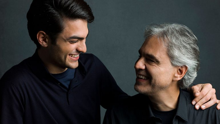 Andrea Bocelli Teams Up With Son Matteo And Dua Lipa On