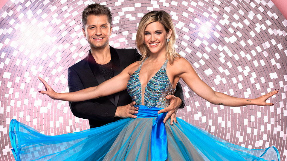 Pasha Kovalev and Ashley Roberts