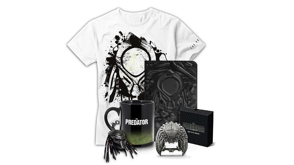 The Predator merch pack