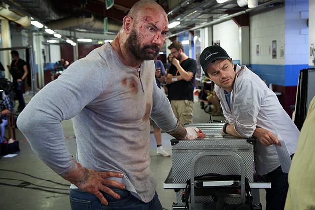 Dave Bautista and Scott Mann