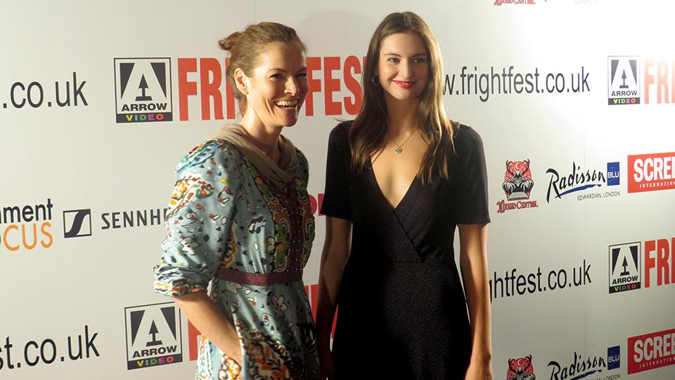 Selina Giles and Vanessa Grasse