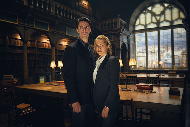 Matthew Goode and Teresa Palmer - A Discovery of Witches