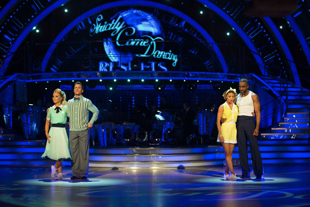 Strictly results week 4