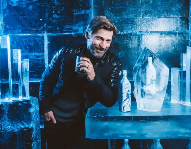 Game of Thrones star Nikolaj Coster-Waldau enjoys an exclusive first sip of the new, limited-edition White Walker by Johnnie Walker blend in anticipation of the show's 8th and final season.