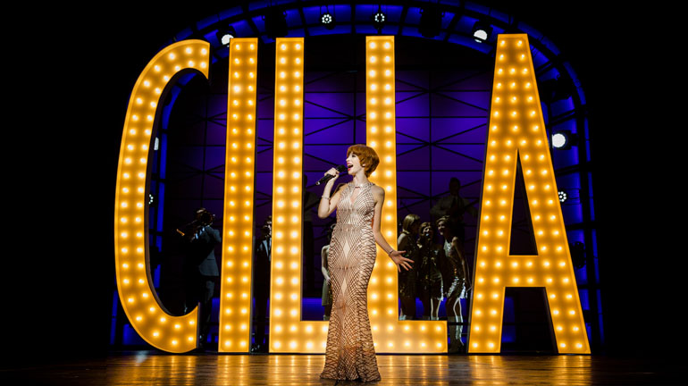 Kara Lily Hayworth Cilla The Musical at Leeds Grand Theatre Photo Matt Martin.