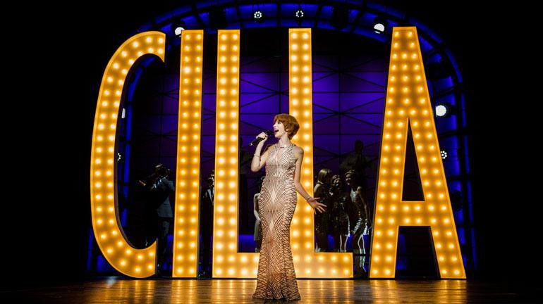 Kara Lily Hayworth Cilla The Musical at Leeds Grand Theatre Photo Matt Martin.