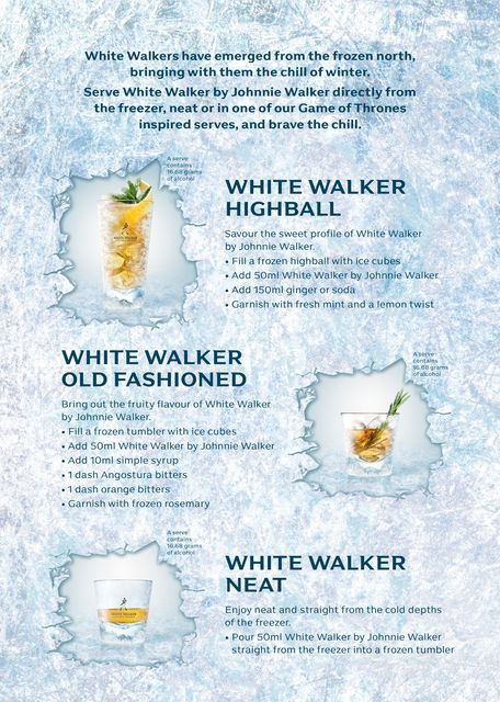 Game of Thrones – White Walker by Johnnie Walker