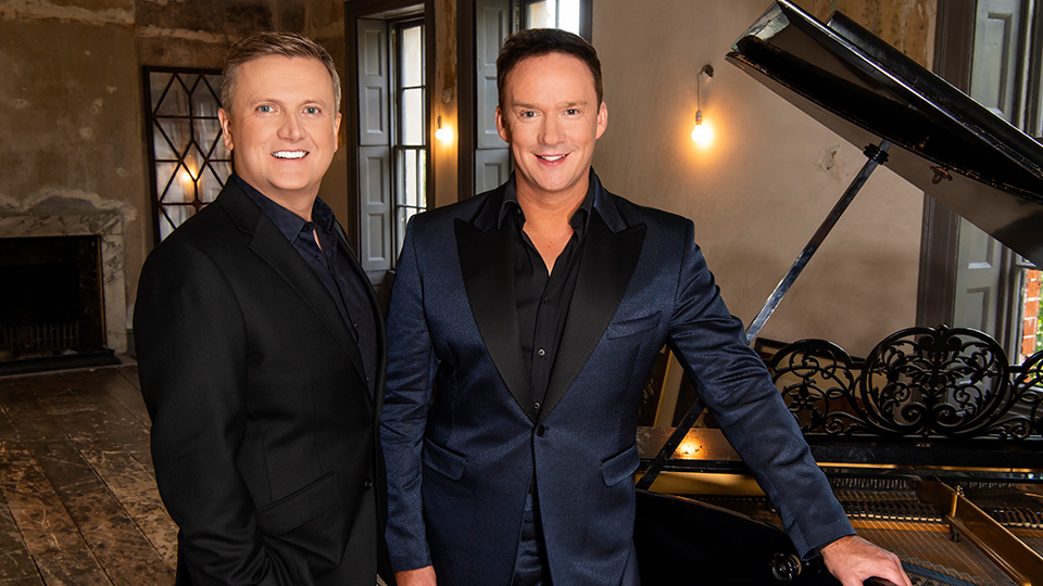 Aled Jones and Russell Watson