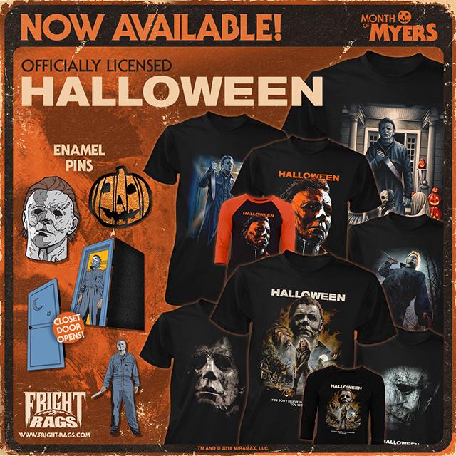 Halloween 2018 merchandise