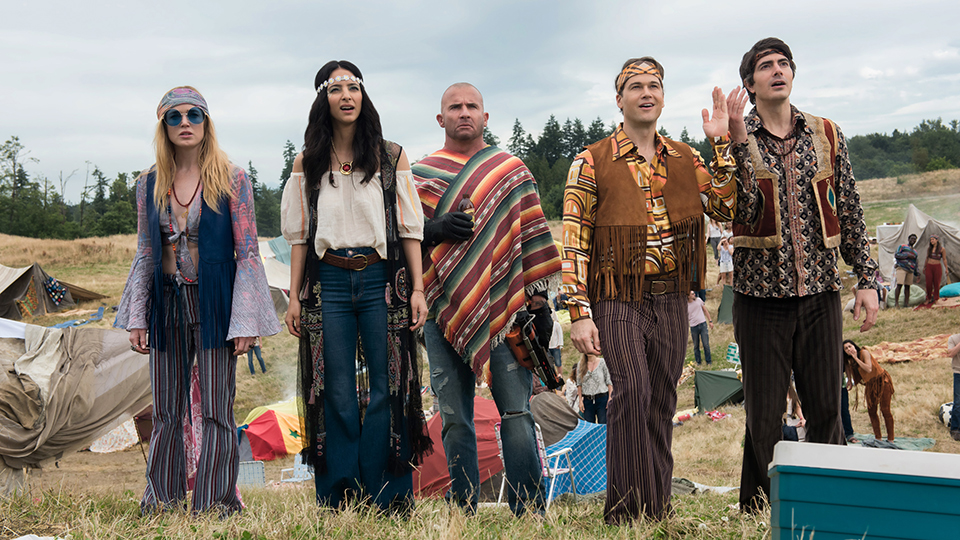 DC's Legends of Tomorrow 4x01