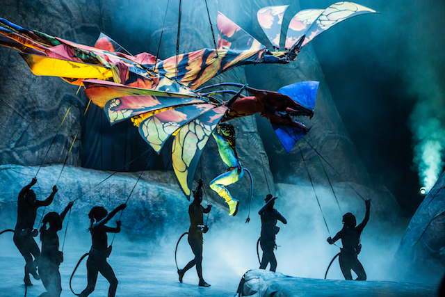 UK dates announced for James Cameron's Avatar inspired Cirque du Soleil show, TORUK - The First Flight