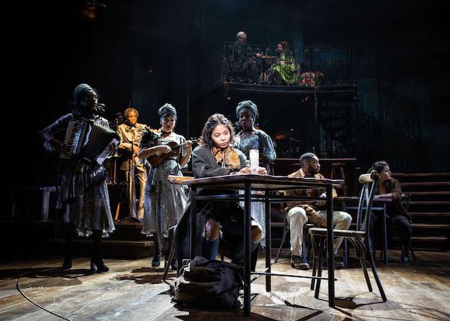 Hadestown musical at National Theatre