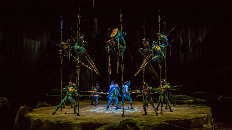 James Cameron's Avatar inspires Cirque du Soleil spectacular new show TORUK – The First Flight