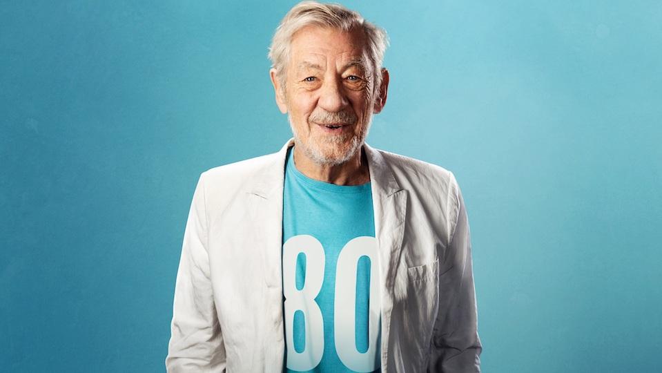 IAN MCKELLEN celebrates 80th birthday with UK theatre tour