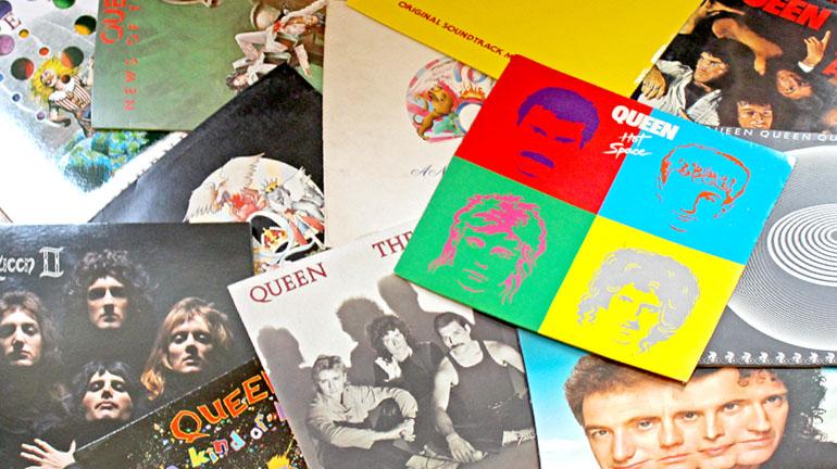 Queen Top 10 Album Records