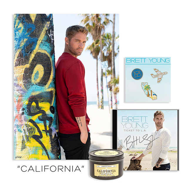 Ticket To L A Brett Young: Win A Brett Young Ticket To L.A. California Bundle