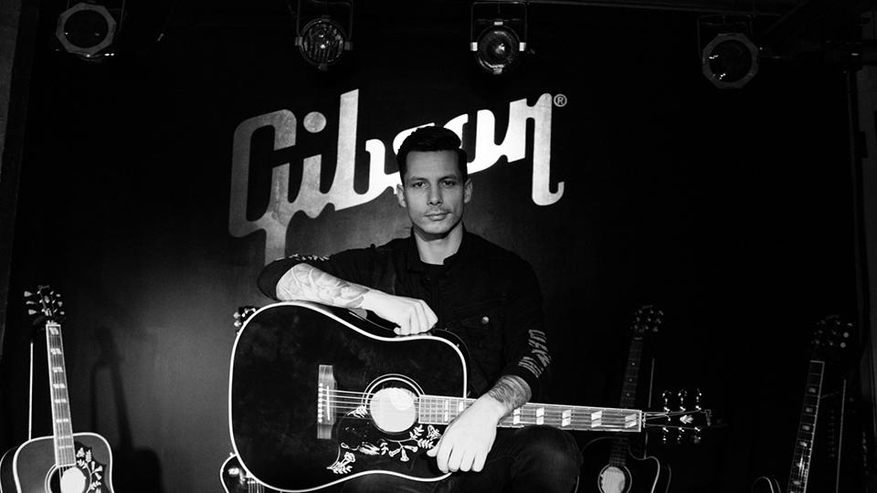 Devin Dawson at Gibson Brands