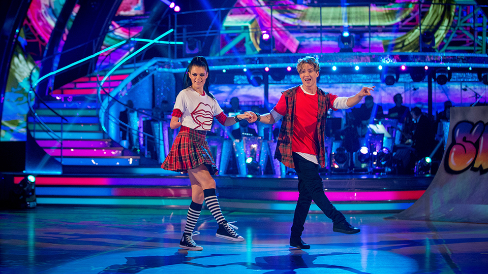 Lauren Steadman and AJ Pritchard week 7