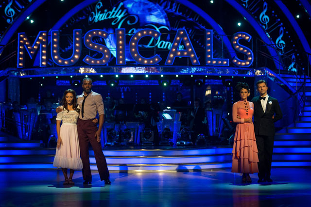 Charles and Karen, Ashley and Pasha