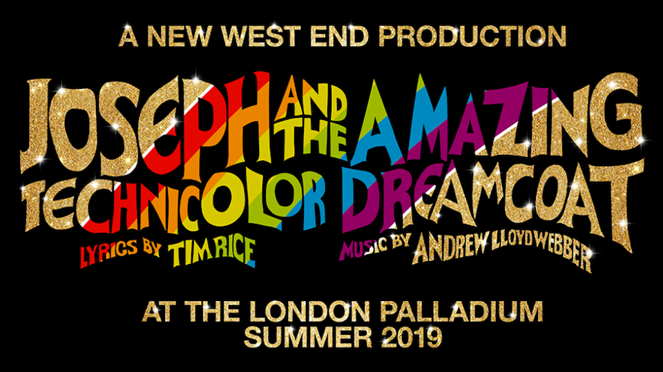 Joseph and the amazing technicolor dreamcoat London Palladium tickets on sale December 7th 2018