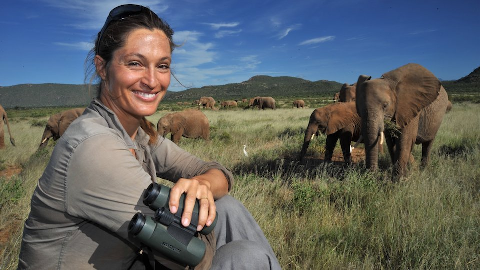 Saba Douglas Hamilton A Life with Elephants to tour