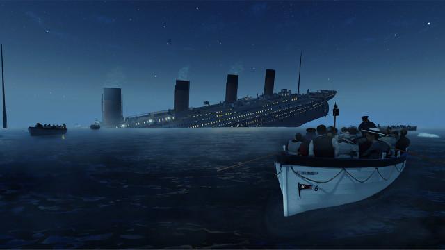 Titanic VR Lifeboat 6