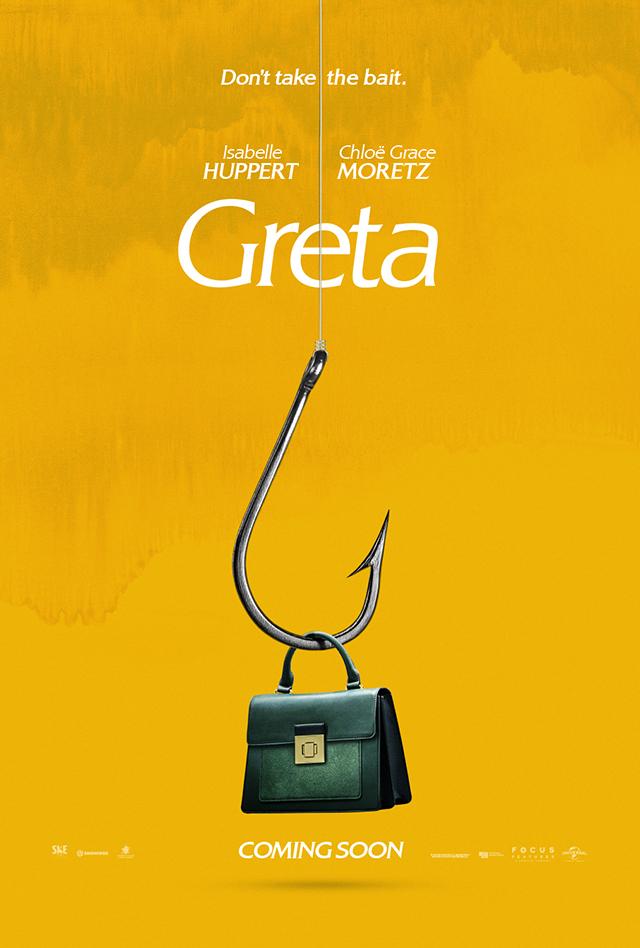 Greta: Isabelle Huppert stalks Chloe Grace Moretz in new