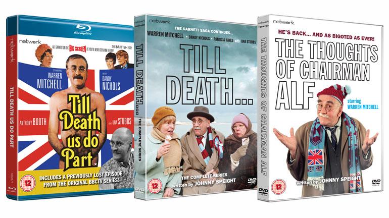 Alf Garnett dvd blu-ray releases 2019