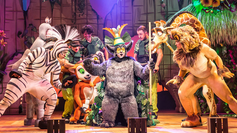 Madagascar the Musical at York Theatre Royal
