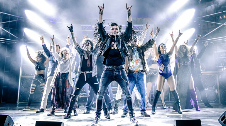 Rock of Ages at Leeds Grand Theatre Credit The Other Richard